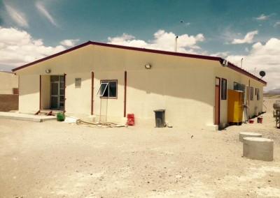 Reparaciones en albergue del SAG en Colchane