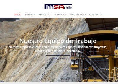 Diseño Sitio web para Imetsa.cl